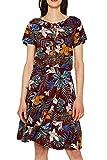 ESPRIT Damen 059EE1E002 Kleid, Rot (Bordeaux Red 600), Medium (Herstellergröße: M)