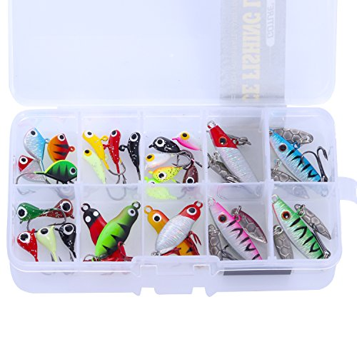 Goture Ice Fishing Jigs Ice Fishing Lures Ice Fishing Gear...