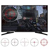 eXtremeRate Adesivo Fastscope No Scope TV Mirino Decal Stickers Portata Veloce per Playstation4 PS4...