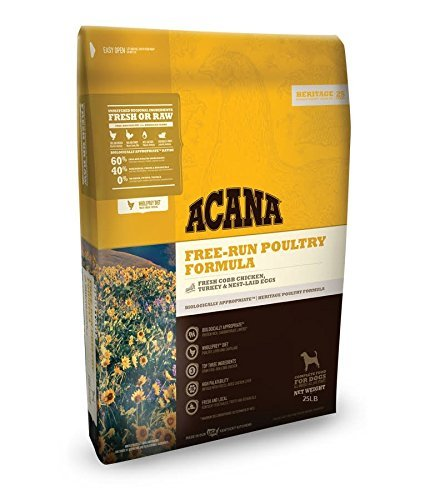 ACANA 25 LB. (1 Pack) Heritage Free Run Poultry...