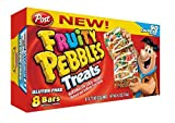 Post Fruity Pebbles Treats 8-count Box (Pack of 2)
