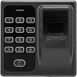 指紋出席アクセス制御、生体認証インテリジェントドアアクセスセキュリティシステム、IDカードドアアクセス制御、ドアアクセス出席用のDC12Vパスワード