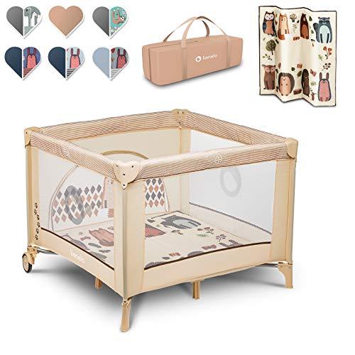 Lionelo Sofie parc pour bébé parc pour bébé lit de voyage lit bébé de la naissance jusqu'à 15...