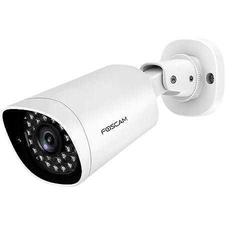 Foscam G4ep Ip Kamera Für Den Außenbereich 4 Mp Outdoor 2 K Fernüberwachung 24 7 Bewegungserkennung Weiß Baumarkt