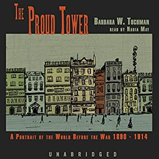The Proud Tower audiobook cover art