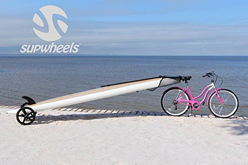 SUP Wheels Evolution | Standup paddle board Carrier | Easy Board Transporter