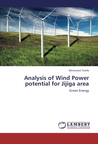 Analysis of Wind Power potential for Jijiga area: Green Energy