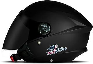 Capacete Moto Aberto New Liberty Three Elite Viseira Fumê