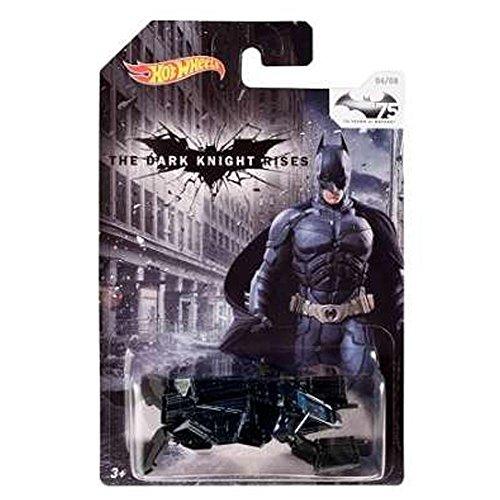 Hot Wheels Batman 75th Anniversary: The Dark Knight Rises The Bat