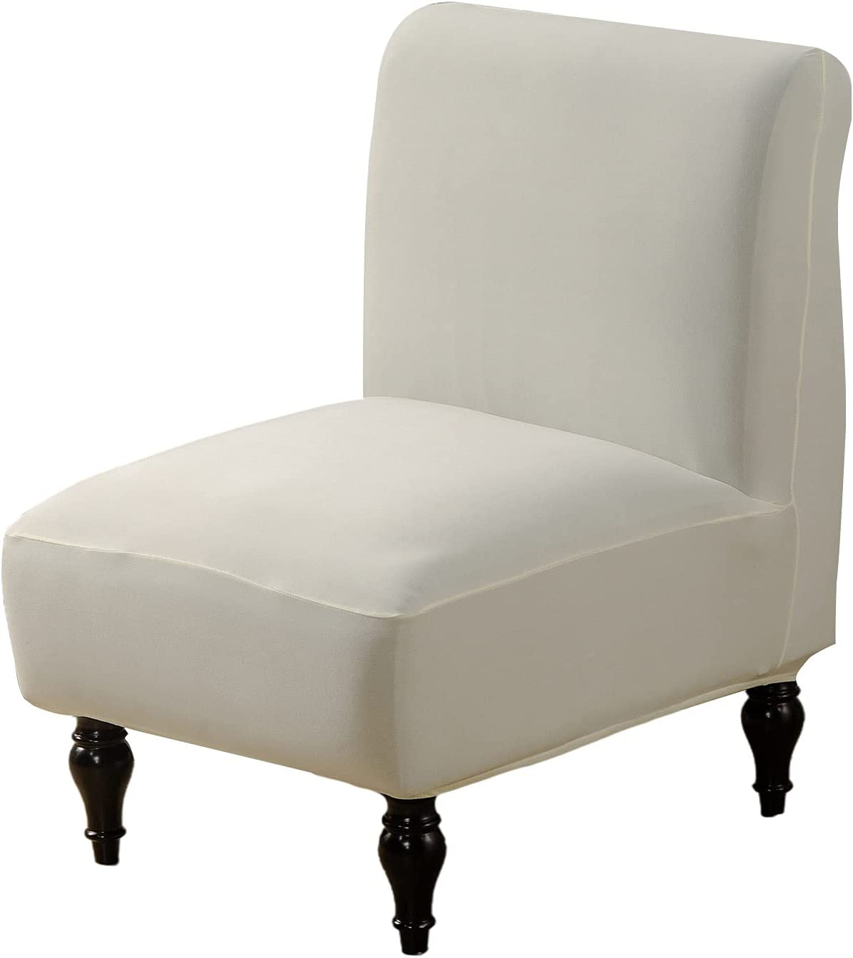 Cheap SALE Start CRFATOP Armless Chair Cover Stretch Slipcover Detroit Mall Acce Solid
