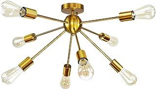 Best gold bedroom light fixtures Reviews