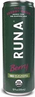 Runa Clean Energy Guayusa Tea, Berry, 12 oz