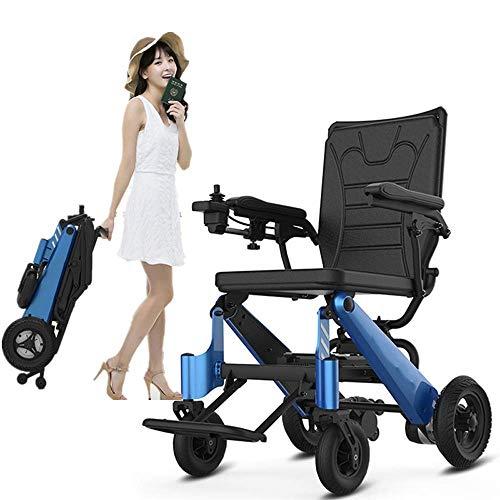 Equipo para el hogar Portátil plegable ligero Portátil para ancianos (batería de iones de litio) 360 grados;Joystick El cuerpo de la persona discapacitada para usar sillas de ruedas (tamaño:
