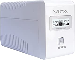 VICA Nobreak S900 Estabilizador de Voltaje, 900Va