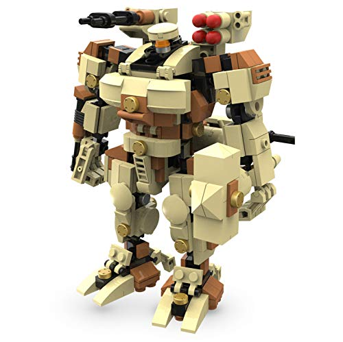 MyBuild Mecha Frame Sci-Fi Series Titan 6012 Robot Bricks Construction Blocks Toy Figure