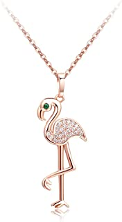 Best gold flamingo necklace Reviews