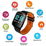 Mobican A6 Fitness Tracker HR Activity Tracker with Heart Rate Monitor IP67 Waterproof