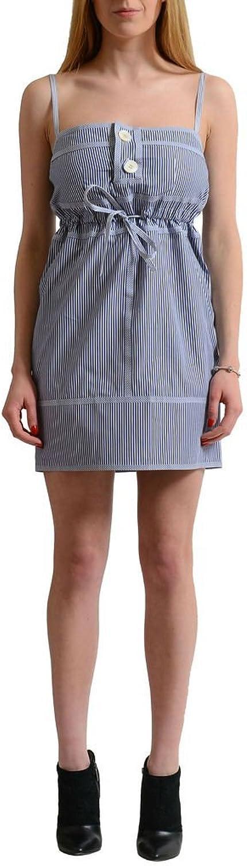 Dsquared2 Multicolor Striped Women's Sheath Dress