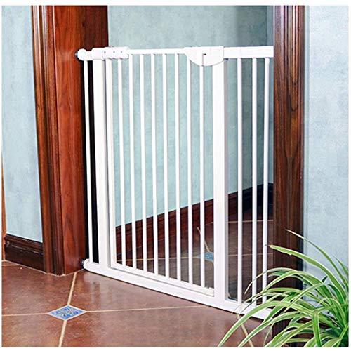 FCXBQ Puerta para bebé Puerta para bebé expandible con Valla para Puerta de protección Protección para niños para bebés Puerta de bebé Montaje a presión Punzón Libre (Color: Alto80CM, Tamaño: 174-