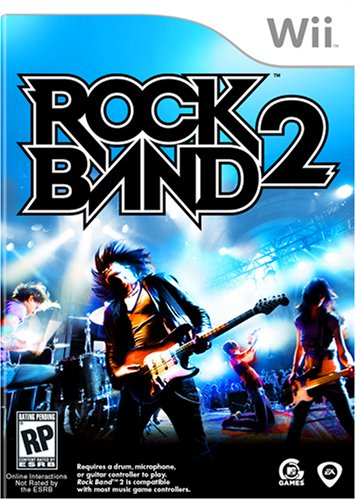 Rock Band 2 - Nintendo Wii (Game only)