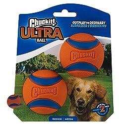 Bull terrier toys - ChuckIt! Medium Ultra Ball