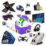 Mystery Box, Lucky Box Electronic Products, Surprise Box Viene con Un Teléfono Móvil, Tableta, Dron, Teléfono Inteligente, Etc, Es Un Gran Regalo para Los Demás. A