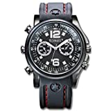 Technaxx Actionmaster - Reloj de Pulsera con cámara integrada de 4 GB, Color Negro