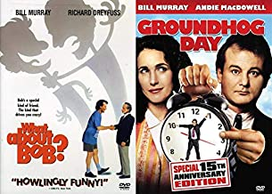 Bill Murray's Greatest Hits Vol 5: Groundhog Day + What About Bob? 2 DVD Comedy Set