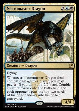 Magic The Gathering - Necromaster Dragon (226/264) - Dragons of Tarkir