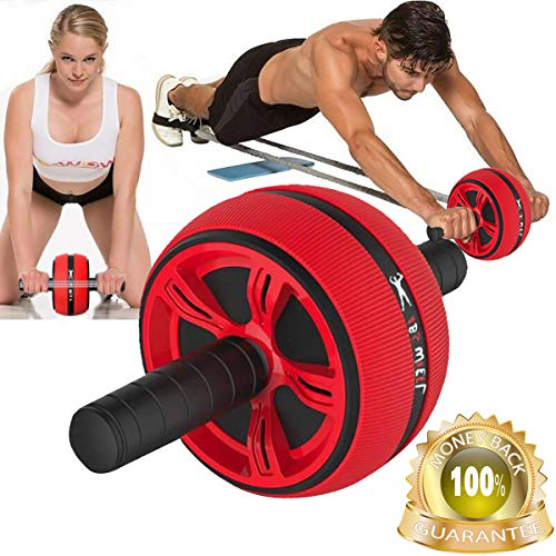 Ab Roller Wheel for Abdominal Exercise Ab Carver Pro Roller for Core Workouts Perfect Fitness Professional Grade Home Gym Workout Abdominal Equipment for Exercise Core Stomach Abdomen Muscle Training