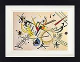 1art1 Wassily Kandinsky - Komposition, 1922 Gerahmtes Bild