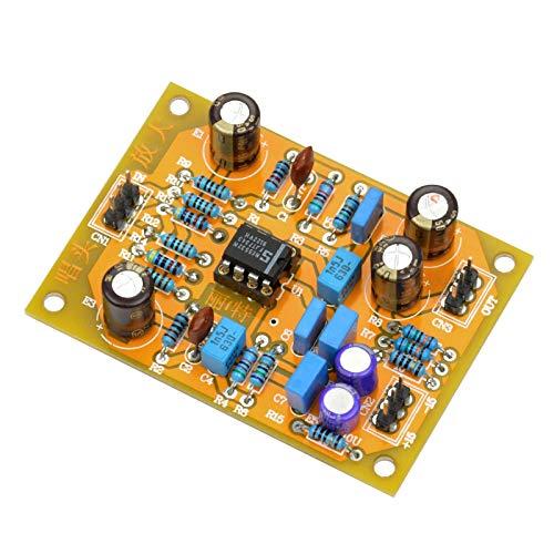 REFURBISHHOUSE de Alta Fidelidad Amplificador Estéreo Mm Phono Riaa Amplificador Ne5532 DIY Preamplificador de Audio