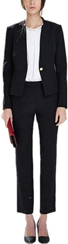 2 Pcs Women Suits Set Blazer Ladies Wedding Tuxedos Party Wear Suits
