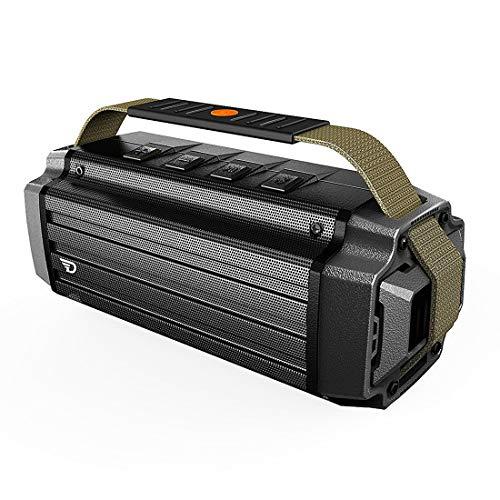 DreamWave Tremor Bluetooth Speaker Army Green - 最大出力50W、大迫力のアウトドアスピーカーの最高峰 【...
