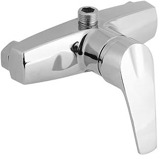 delaman mezclador ducha grifo bañera grifo para baño y ducha, Plata Cromo