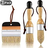 Best Chalk Brushes - 3 Pieces Chalk and Wax Paint Brushes Bristle Review