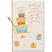American Greetings Happiness Always Birthday Card with Glitter