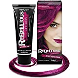 Paintglow - Rebellious Colours - Tinte de Pelo Semi-Permanente 70 ml (Shocking Pink) - 1 unidad