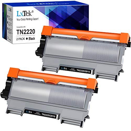 LxTek XL Toner Kompatibel für Brother TN2220 TN-2220 TN2010 TN-2010 für Brother HL-2130 MFC-7360N DCP-7055 HL-2240 HL-2240D HL-2250DN HL-2270DW DCP-7060D MFC-7460DN 7860DW FAX-2840 FAX-2940 DCP-7070DW