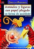 Serie papel nº 32. ANIMALES Y FIGURAS CON PAPEL PLEGADO EN FORMA DE ACORDEÓN (Cp Serie Papel (drac))