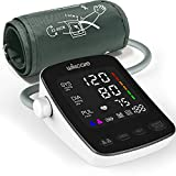 Blood Pressure Monitor, Automatic Upper Arm Machine with Large Backlit Display, 2 x 199 Memory Automatic High Blood Pressure Detector for Home