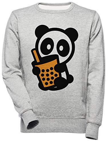 Bubbel Thee Panda Bambu Merk Boba - Bubbel Thee Unisex Mannen Dames Trui Sweatshirt Unisex Men's Women's Jumper