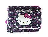 SANRIO Black and Pink Face Hello Kitty Messenger Bag - Hello Kitty Laptop Bag