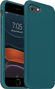 OUXUL iPhone 8 case,iPhone SE 2020 Case,iPhone 7 Phone case Liquid Silicone Gel Rubber Phone Case,iPhone SE 2020/8/7 4.7