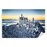 Postereck - 1318 - Märchen Schloss Neuschwanstein, Winter