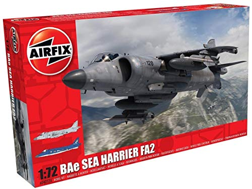 Airfix a04052 a Maqueta de Bae Sea Harrier FA2 , color/