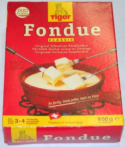 Tiger fondue 800 g