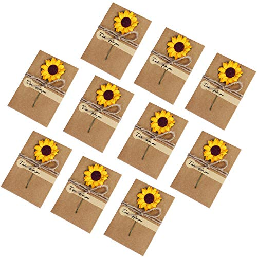 per pack of 5... DoCrafts A6 Recycled Kraft Blank Cards /& Envelopes  Brown