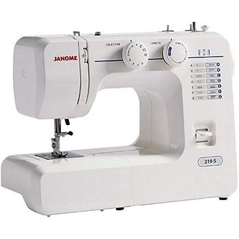 Janome 219S máquina de coser – recién liberada: Amazon.es: Hogar