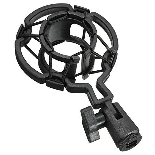 Dasing Sostenedor Montaje De Choque De Microfono Condensador Profesional Universal Soporte De Grabacion De Estudio para Diafragma Grande Clip De Microfono